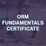 ORM Fundamentals Certificate Exam