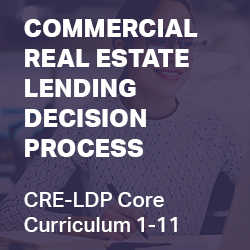 Commercial Real Estate Lending Decision Process (CRELDP Core Series-1 through 12)